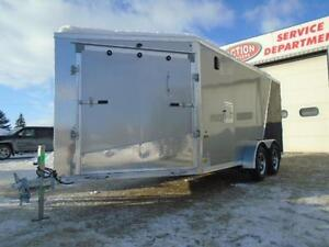 SNOWMOBILE TRAILER SPECIAL - DRIVE IN/OUT -LOTS OF FREE UPGRADES London Ontario image 6