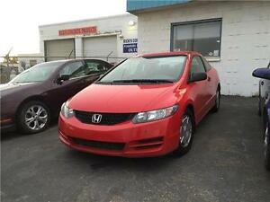 2010 HONDA CIVIC COUPE LOW KM