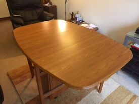 Gate Leg Dining Table - Oval shape