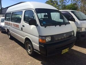 1994 Toyota Hiace RZH125 Commuter White 5 Speed Manual Bus Macquarie Hills Lake Macquarie Area Preview