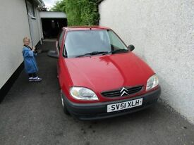 saxo first good solid old car