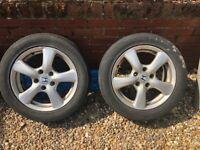 "2 x Honda Civic 2006 - 2011 16"" alloy wheels"