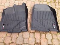 WEATHERTECH MOULDED MATS TO FIT A FORD EDGE