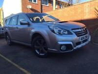 Subaru Outback SX 2.0D Auto 5 Door Estate Silver 2014