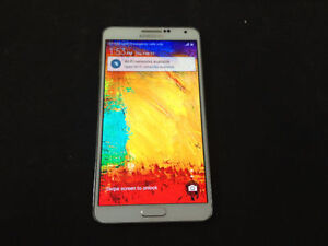 Samsung Galasxy Note 3 with Box