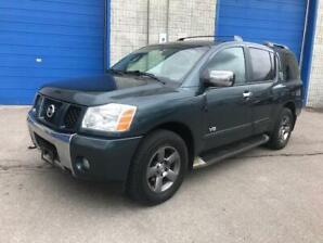 2005 Nissan Armada 4X4|ACCIDENT FREE|8 PSGR|REAR SENSORS|REAR AC