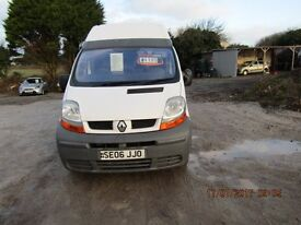 renault trafic dci-100 high top 2006-06 reg ALL VANS AND CARS REDUCED !!