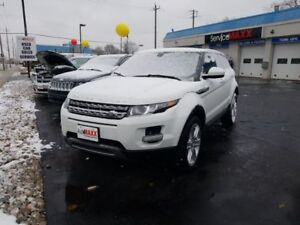 2015 Land Rover Range Rover Evoque Pure- PANORAMIC SUNROOF, REAR