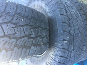 285/70R17 TOYO SUMMER TIRES FOR SALE