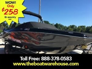 2019 Scarab 215 Identity Jet Twin Rotax 200HP WB Tower Trailer