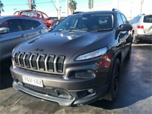 2015 Jeep Cherokee KL MY15 Blackhawk Grey Sports Automatic Wagon Lansvale Liverpool Area Preview