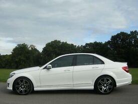 Mercedes Benz C Class C220 AMG SPORT PLUS REDUCED MASSIVELY AGAIN 2012 added sat nav 36500 k miles