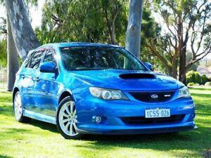 2007 Subaru Impreza G3 MY08 WRX AWD Blue 5 Speed Manual Hatchback Myaree Melville Area Preview