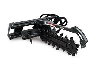 NEW HEAVY DUTY SKID STEER ERSKINE TRENCHER ATTACHMENT Regina Regina Area image 1