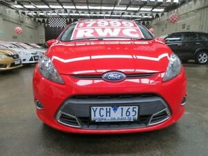 2010 Ford Fiesta WS Zetec 5 Speed Manual Hatchback Mordialloc Kingston Area Preview
