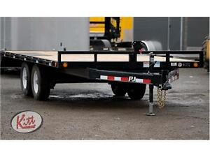 Brand new PJ 8.5x16 deck over equipment trailer