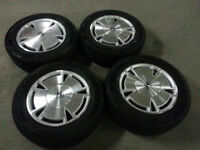 Mags Honda Civic with summer tires 195-65-15