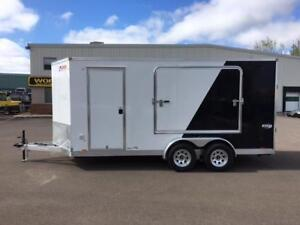 NEW 2018 PACE 7' x 16' ELITE ALUMINUM TOY HAULER