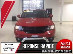 2017 Dodge Journey Crossroad, AWD, v6, 7 PASSER, AIR CLIM, DVD,