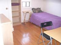 $500 Clean bright furnished room for rent