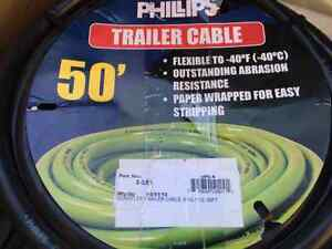 Trailer Wiring - 50' of New 7 wire 12 Gauge PVC Insulated Cable