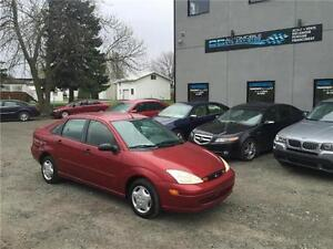 2001 Ford Focus SE AUTOMATIQUE + 162 511KM + A/C $1898$