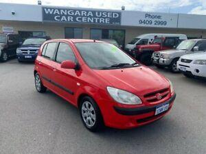 2007 Hyundai Getz TB Upgrade 1.6 Red 5 Speed Manual Hatchback Wangara Wanneroo Area Preview
