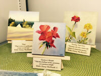 The artistry of Debbie Lamey- MacDonald now at China Cupboard