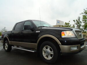 SOLD!!!!>2004 Ford F-150 SuperCrew LARIAT-HEATED LEATHER-SUNROOF