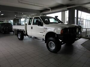 2005 Ford F250 RN XLT (4x4) White 4 Speed Automatic Super Cab Pick-up Thornleigh Hornsby Area Preview