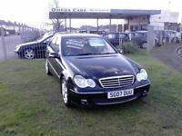 Mercedes C220 Cdi Avantgarde Se A 4 Door Saloon