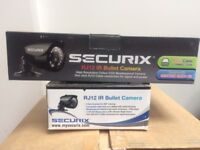 SECURIX RJ12 IR Bullet camera