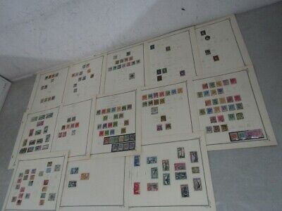 Nystamps British Ceylon old stamp collection Scott page