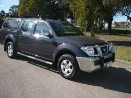 2008 Nissan Navara D40 ST-X (4x4) Silver 5 Speed Automatic Dual Cab Pick-up Bairnsdale East Gippsland Preview
