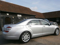 0757 MERCEDES-BENZ S320 3.0CDi L TURBO DIESEL AUTOMATIC 7G 82K FSH 7 SERVICES.