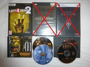 Left 4 Dead / Diablo / Warcraft - PC GAMES
