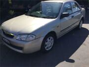 1998 Mazda 323 Protege Shades Beige 4 Speed Automatic Sedan Boolaroo Lake Macquarie Area Preview