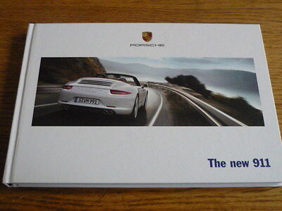 PORSCHE 911 PRESTIGE CAR BROCHURE 2012