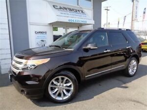 2013 Ford Explorer XLT 4WD, Nav, Leather, Sunroof, Tow Package