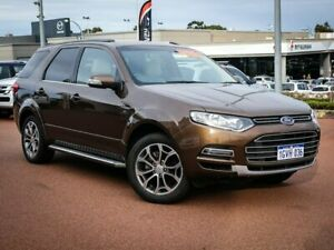 2013 Ford Territory SZ Titanium Seq Sport Shift Bronze 6 Speed Sports Automatic Wagon Wangara Wanneroo Area Preview