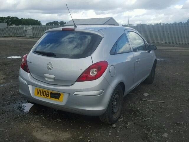 VAUXHALL CORSA D SILVER 2008 BREAKING FOR SPARES TEL 07814971951 HAVE FEW IN STOCK