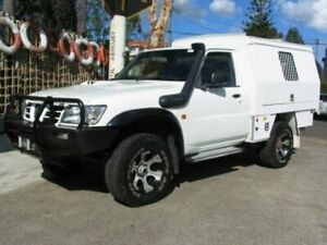 2005 Nissan Patrol GU DX (4x4) White 5 Speed Manual 4x4 Leaf Cab Chassis Roselands Canterbury Area Preview