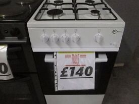 *****FLAVEL WHITE+50CMS+GAS COOKER+VERY CLEAN+GREAT CONDITION+FREE DELIVERY LOCALLY SAMEDAY*****