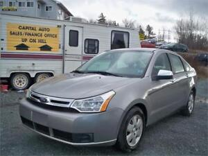 EXTREMALY LOW MILEAGE!!! 73000 KM ON 2008 FOCUS WITH HEAT SEATS