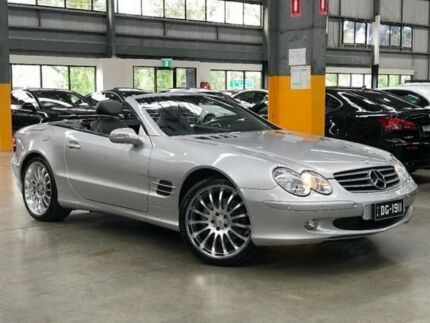 2002 Mercedes-Benz SL500 R230 Roadster 2dr Spts Auto 5sp 5.0i [Jul] Silver Sports Automatic Roadster