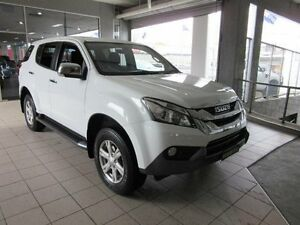 2016 Isuzu MU-X UC MY15 LS-U (4x4) Splash White 5 Speed Automatic Wagon Thornleigh Hornsby Area Preview