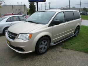 2012 DODGE GRAND CARAVAN, STOW 'N GO, HAS SAFETY&WARRANTY $8,450