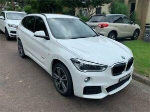 2017 BMW X1 F48 MY17 xDrive 25I White 8 Speed Automatic Wagon West Gosford Gosford Area Preview