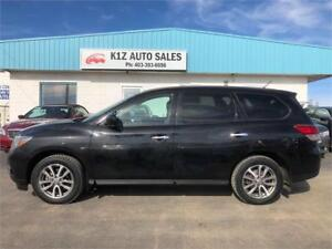 2015 Nissan Pathfinder S -LOW KMS/COMES WITH 3MTH WARRANTY