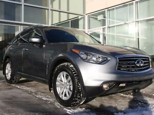 2012 Infiniti FX35 AWD/LEATHER/HEATED FRONT SEATS/BACK UP MONITO